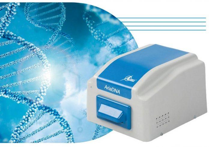 Alat tes PCR AriaDNA dapat menjadi alternatif yang efektif karena menggunakan lebih sedikit reagen untuk mencapai hasil yang cepat dan akurat. Foto: Abbotsford News