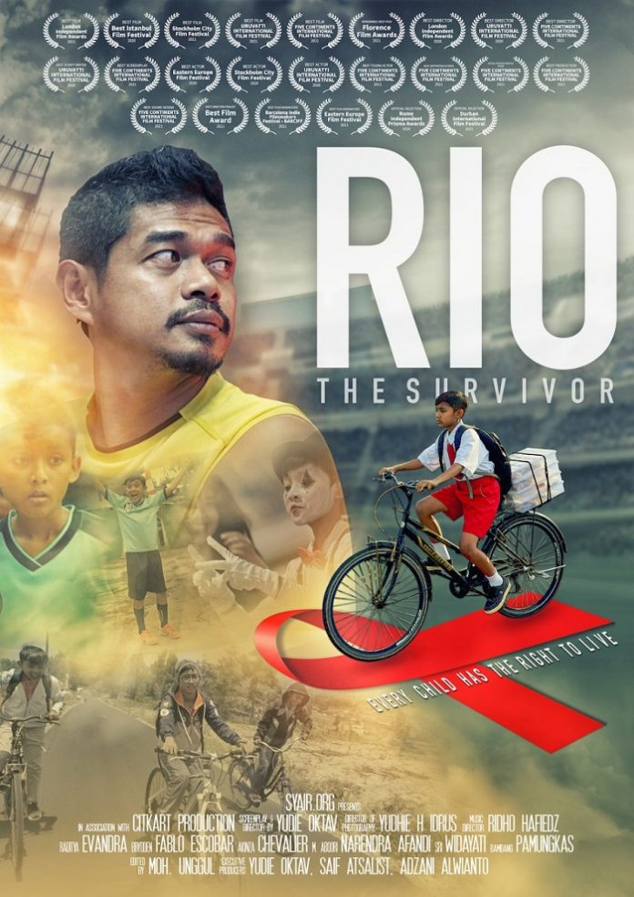 Film Rio The Survivor berhasil meraih 24 penghargaan internasional. Foto: Rio The Survivor