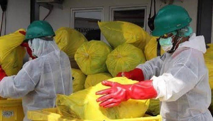 Presiden Jokowi menginstruksikan agar sarana pengelolaan limbah medis Covid-19 yang infeksius segera direalisasikan./foto: jabarprov.go.id